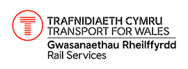 Transport for Wales (TfW) Rail Services Logo